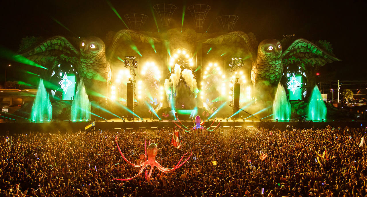The Kinetic Field Stage at EDC 2014