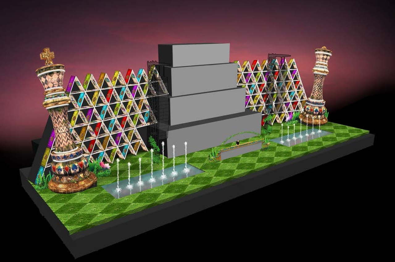 The 3D design of the Nocturnal stage in 2015